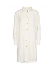 Moves by Minimum Fromm-long skjorte i hvid