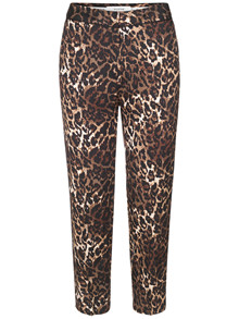 Munthe Viol bukser i leopard