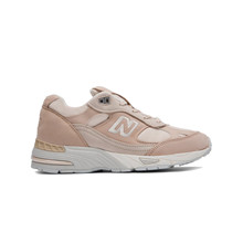 New Balance W991SSG Sneaker i Beige