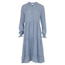Neo Noir Beta Graphic kjole i Graphic blue
