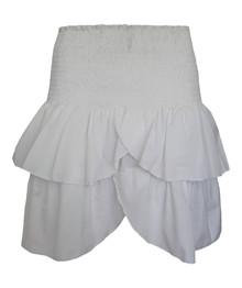 Neo Noir Carin nederdel i hvid