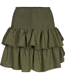 Neo Noir Carin nederdel i grøn