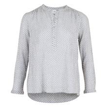 Neo Noir Gunbrit Crepe bluse i hvid