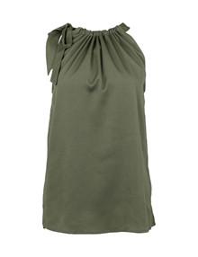 Neo Noir Linea Solid top i armygrøn