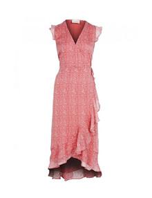Neo Noir Manda Desert kjole i rød