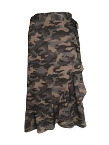 Neo Noir Mika nederdel i army