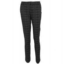 Neo Noir Steven Check bukser i grå