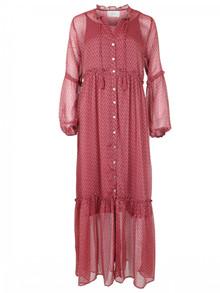 Neo Noir Vivi kjole i rosa