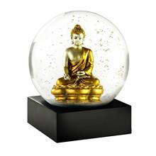 Niji Snow Globe Gold Buddha