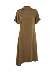 NORR Eva kjole i brun