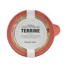Nicolas Vahé Terrine med vaktel & grønne peberkorn