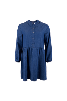 Black Colour Adeline short dress i denim