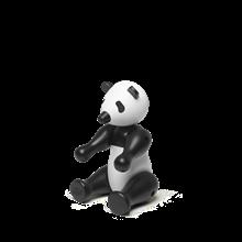 Kay Bojesen Pandabjørn, lille i sort/hvid