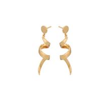 Pernille Corydon Small Loop øreringe i forgyldt