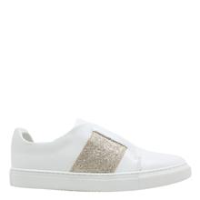Phillip Hog Elastic sneakers i hvid/guld