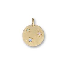 Jane Kønig Tag With Stars vedhæng i forgyldt