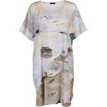 Stine Goya Smilla Silke kjole i Noahs ark motiv