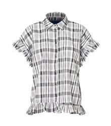 Résumé Freddie skjorte sort/hvid