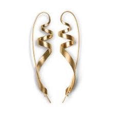 Jane Kønig Ringlet øreringe i Guld
