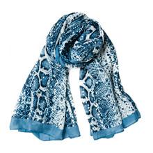 Rosenvinge 615041 tørklæde i blå