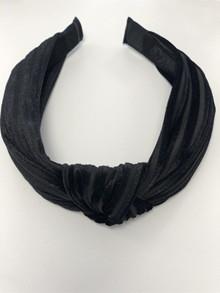 Rosenvinge velvet hårbøjle i sort