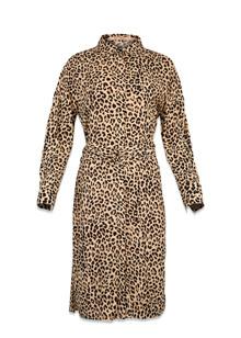 Rue de Femme Miras kjole i leopard