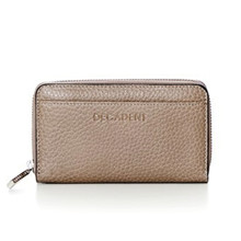 Decadent Medium Zip Wallet stone