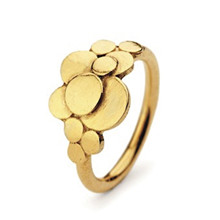Pernille Crydon Multi Coin Ring i guld
