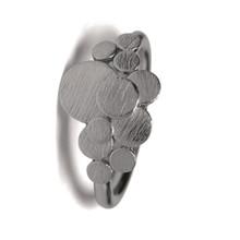 Pernille Corydon Multi Coin ring i oxideret sølv