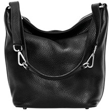 Decadent Big Shoulder Bag i sort