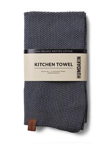 Humdakin køkkenhåndklæde i dark ash