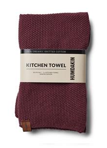 Humdakin køkkenhåndklæde i violet plumb