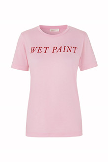 Stine Goya Milo Wet Paint T-shirt i pink