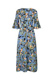 Stine Goya Kirsten kjole i blå