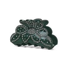 Sui Ava Elisabeth hårklemme i mørkegrøn