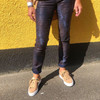 Mos Mosh Naomi Cool Printed bukser i navy