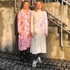 Stine Goya Miri silke kjole i lyserød