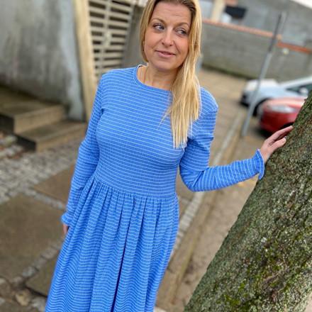 Fri fragt over 499, ♥ Docca kjole blå ♥ Mads Nørgaard