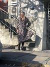 Gestuz Fei kjole i mønsteret