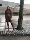 Lounge Nine Sunny strik kjole i brun