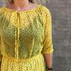 Lollys Laundry City kjole i gul