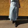 Lollys Laundry Cokko nederdel i lys blå