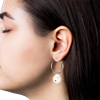 Jane Kønig Baroque Pearl ørering i sølv