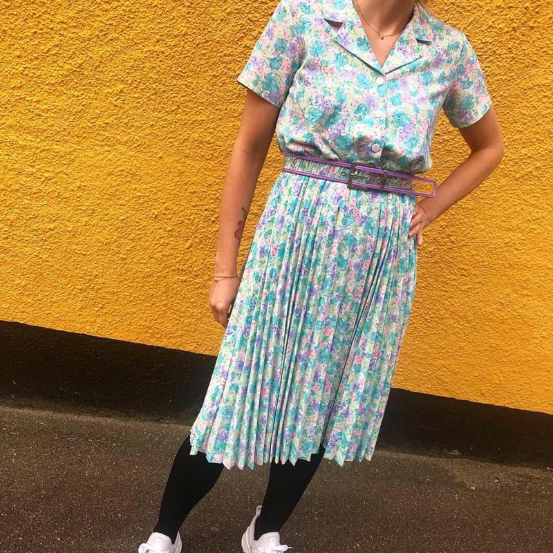 9db3b668409a Résumé Mitzie kjole i mint