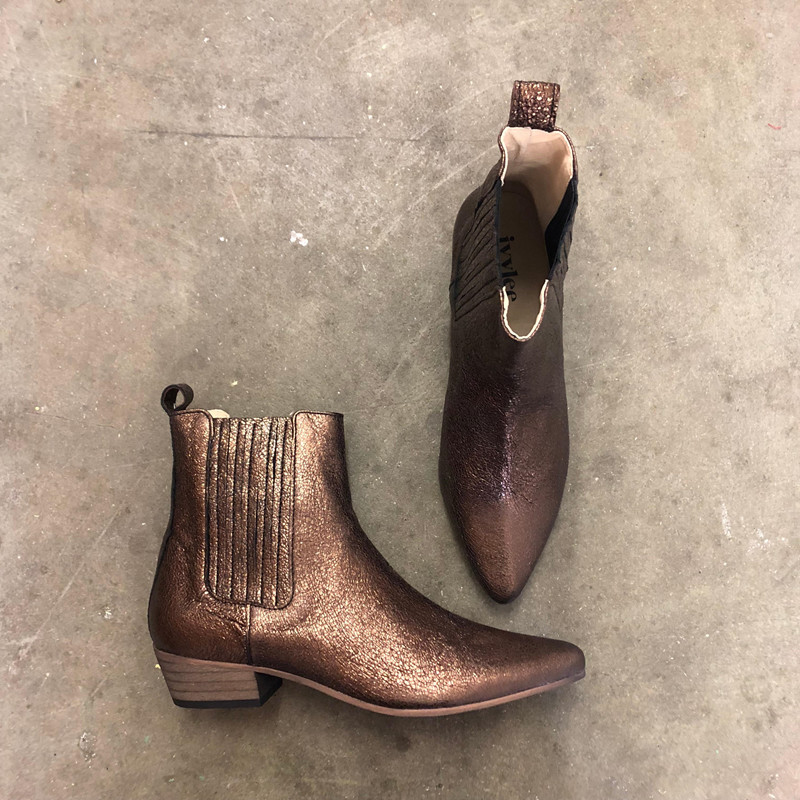 4a8cc3ca Fri fragt over 499,- | Bailey støvler i bronze | Ivylee