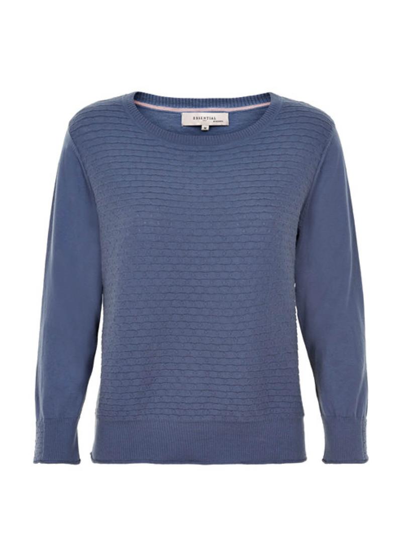 fa21f683cf29 Noa Noa 1-8895-2 pullover i blå