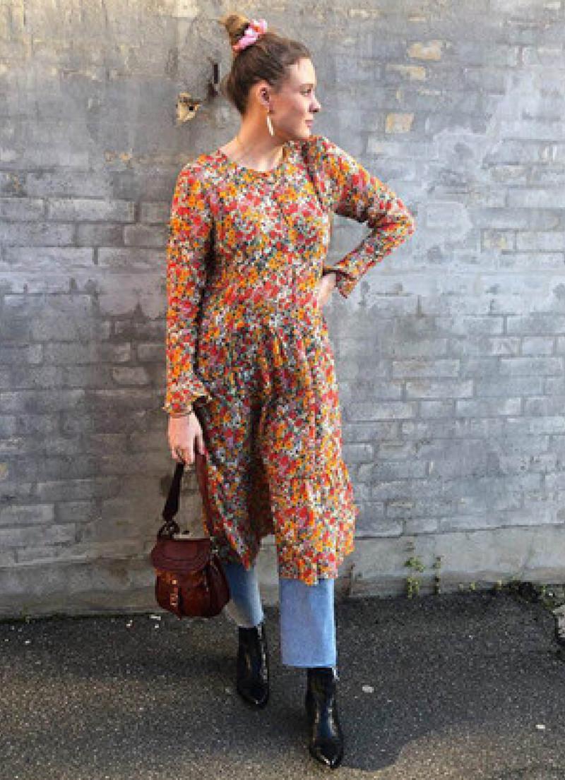 Modish Fri fragt over 499,-   Bloom kjole   Profil Art LD-96