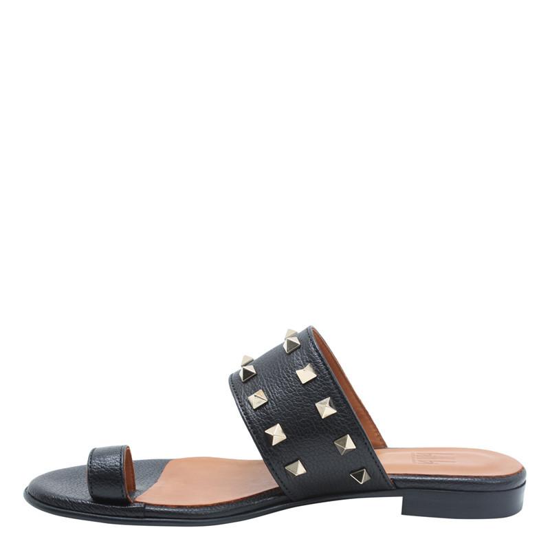 4ba855184 Fri fragt over 499,- | Sort sandal med nitter | Billi Bi