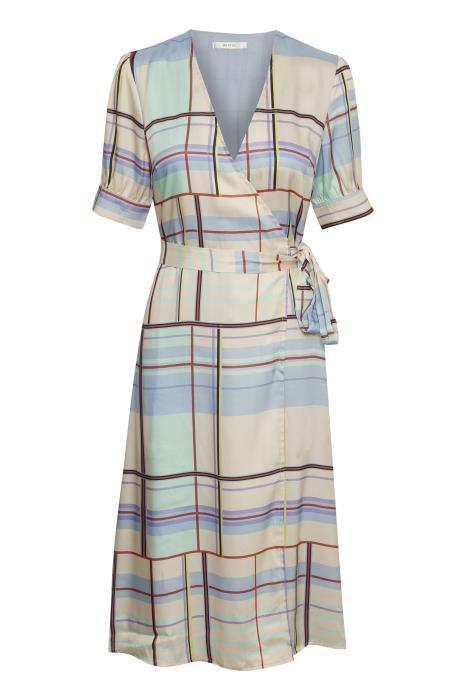 b2e8bae1fcb7 Gestuz Ambina kjole i mønstret