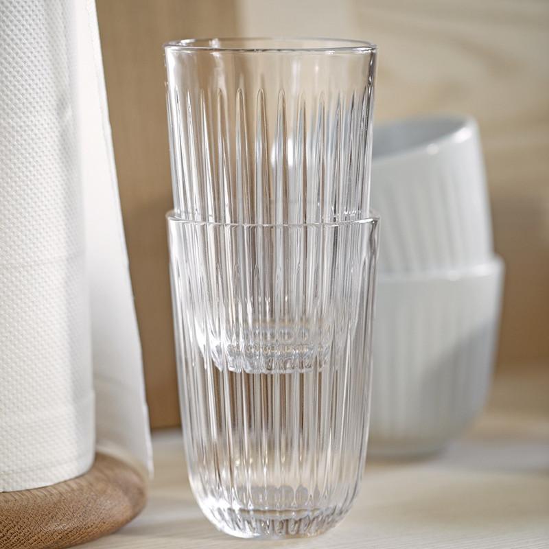 Oppdatert Kähler Hammerhøi vandglas 4 pak i klar glas HO-56